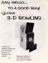 Goodies for 3-D Bowling