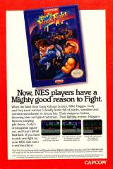Goodies for Mighty Final Fight [Model NES-MF-USA]