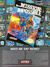 Goodies for Mission: Impossible [Model NES-U4-USA]