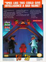 Goodies for Spy vs. Spy [Model NES-SP-USA]