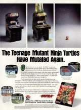 Goodies for Teenage Mutant Ninja Turtles II - The Arcade Game [Model NES-2N-USA]