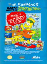 Goodies for The Simpsons - Bart vs. The Space Mutants [Model NES-Q5-USA]