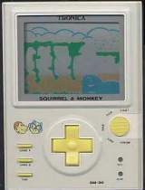 Squirrel & Monkey [Model SM-30] the Handheld Electronic Game