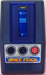 Space Attack the  Handheld Electronic Game