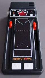 Compu-Bowl the  Handheld Electronic Game