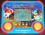 Sonic the Hedgehog Spinball [Model 72-811] the Electronic Game (Handheld)