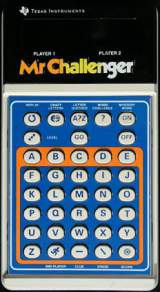 Mr. Challenger the  Handheld Electronic Game