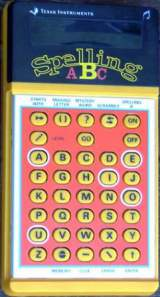 Spelling aBc the Handheld Electronic Game