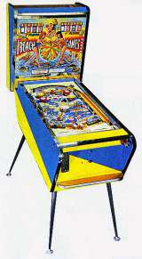 Beach Games the Coin-op Pinball