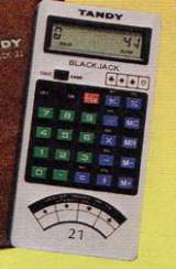 Blackjack-21/Calculator [Model 60-2167] the  Handheld Electronic Game