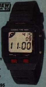 Cosmic Fire Away [Model 60-2174] the  Watch (Electronic Game)