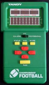 Championship Football [Model 60-2150] the  Handheld Electronic Game