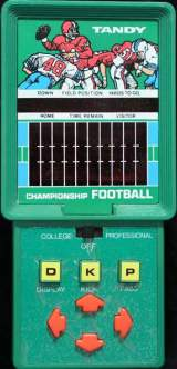 Championship Football [Model 60-2151] the Electronic Game (Handheld)