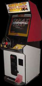 Great 1000 Miles Rally the Arcade Video Game