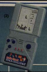 Stack Challenge [Model 60-2247] the  Handheld Electronic Game