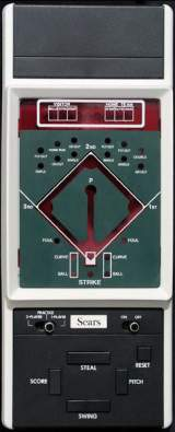 2 Player Baseball the  Handheld Electronic Game