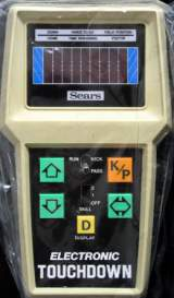 Electronic Touchdown the  Handheld Electronic Game