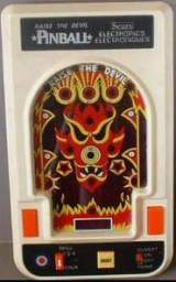 Raise the Devil Pinball the  Handheld Electronic Game