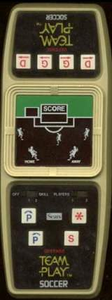 Team Play Soccer [Model 49-65685] the  Handheld Electronic Game