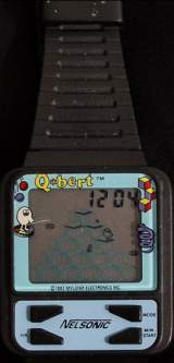 Q*Bert the  Watch (Electronic Game)