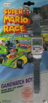 Super Mario Race [Model ZR10733] the  Tabletop Electronic Game
