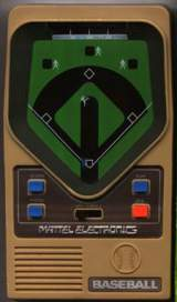 Baseball [Model 2942] the  Handheld Electronic Game