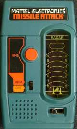Missile Attack [Model 2048] the  Handheld Electronic Game