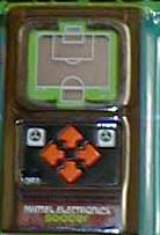 Mattel Classic Soccer [Model 07806] the  Handheld Electronic Game