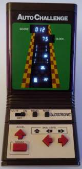 Auto Challenge [Model 4831] the  Handheld Electronic Game