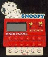 Snoopy Match Game the  Handheld Electronic Game