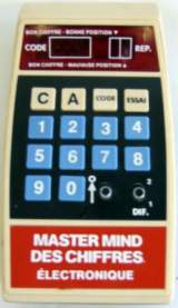 Master Mind des Chiffres the  Handheld Electronic Game