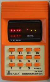 Codemaster [Model EF4001] the  Handheld Electronic Game
