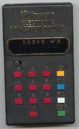 Electronic Master Mind the  Handheld Electronic Game