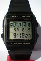 Straight Flush the  Watch (Electronic Game)