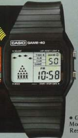 Game-40 [Model GM-40] the Watch (Electronic Game)