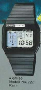 Game-30 [Model GM-30] the  Watch (Electronic Game)