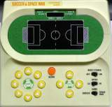 Soccer & Space War [Model HG-90-T] the  Handheld Electronic Game