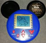 The Wonderful World of Disney - Trivia Electronic Game the Electronic Game (Handheld)