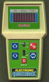 Electronic Quarterback the  Handheld Electronic Game