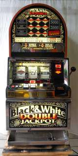 Black & White Double Jackpot the  Slot Machine