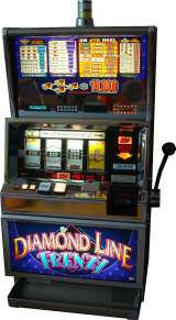 Diamond Line Frenzy the Slot Machine