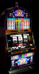 Ten Times Pay Deluxe [3-Coin Multiplier] the  Slot Machine