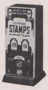 2-Way Postage Stamp Vendor the Coin-op Vending Machine