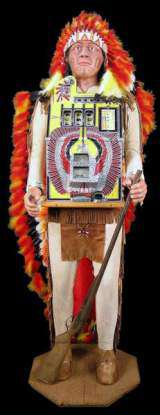 Silent [War Eagle] [Indian Chief] the Slot Machine