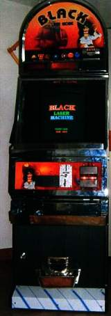 Black Laser Machine the Coin-op Medal Game