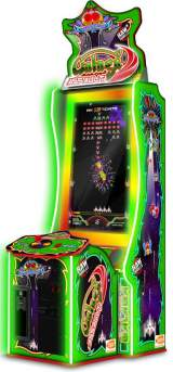 Galaga Assault the Arcade Video Game