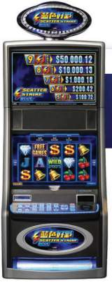 Scatter Strike Blue the Slot Machine