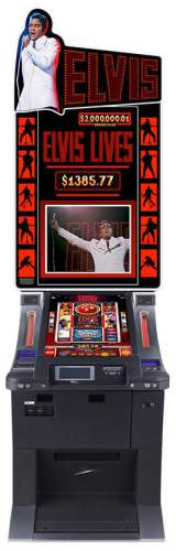 Elvis Lives the Slot Machine