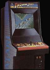 Indiana Jones and the Temple of Doom the Arcade Video Game
