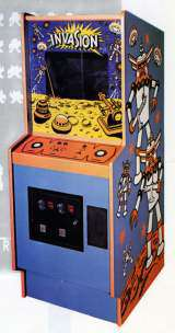 Invasion the  Arcade Video Game